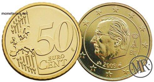 50 Centesimi Euro Belgio Terza Serie