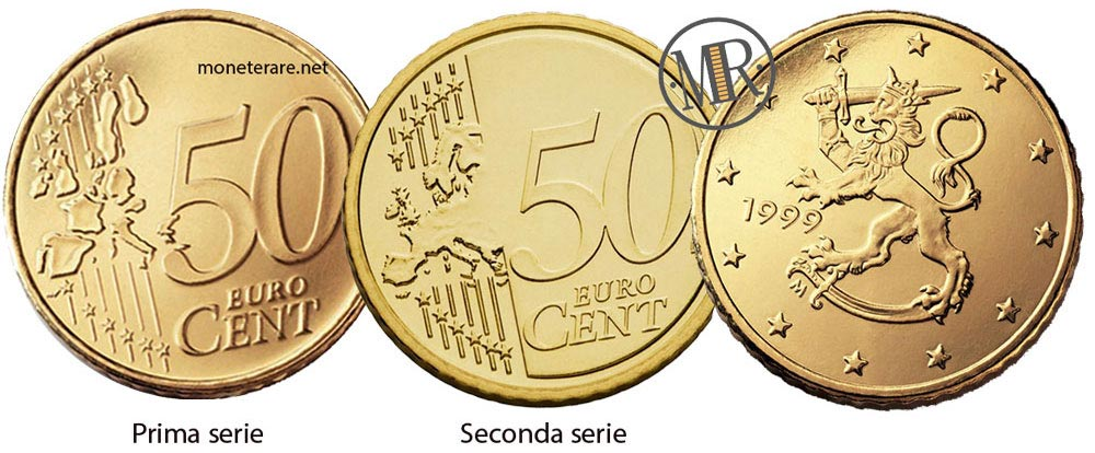 50 Cents Finnish Euro Coin