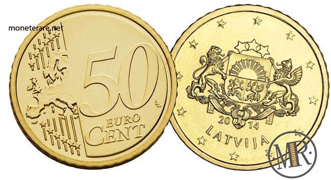 50 Centesimi Euro Lettonia