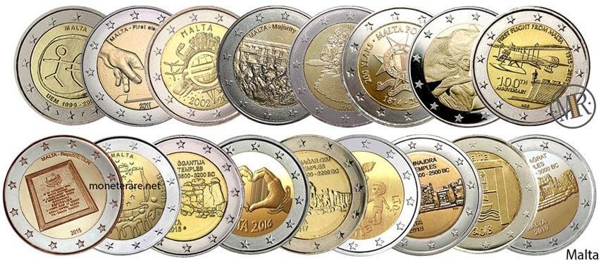 Euro Commemorativi Malta