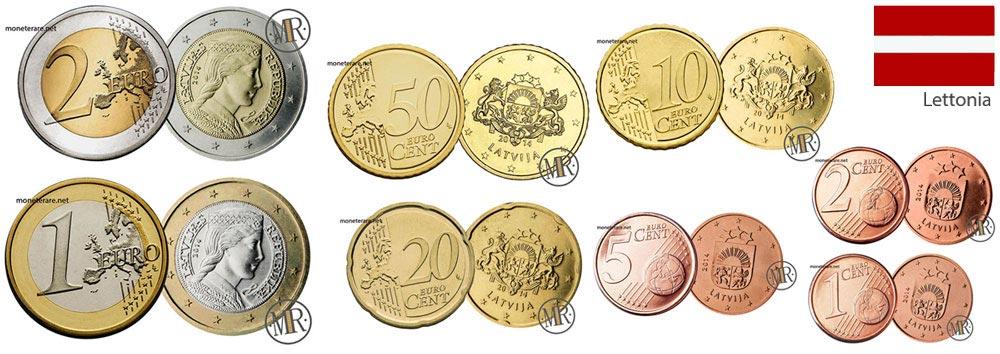 Euro Lettonia Eurocollezione