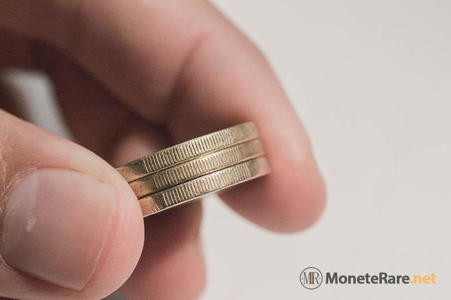 Riconoscere 2 euro falsi e 1 euro falsi
