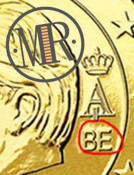 10 Centesimi Belgio 2008 Sigla Stato