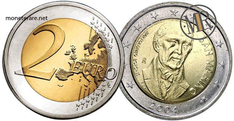 2 Euro San Marino 2004 Bartolomeo Borghesi