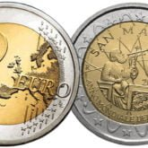 2 Euro San Marino 2005 Fisica