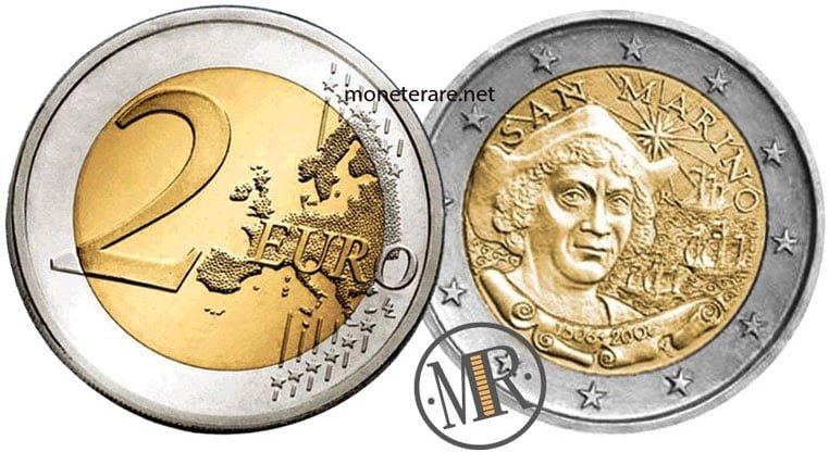 2 Euro San Marino 2006 Cristoforo Colombo