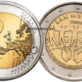 2 Euro San Marino 2008 Dialogo