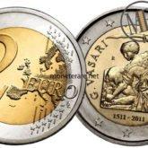 2 Euro San Marino 2011 Vasari