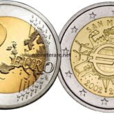 2 Euro San Marino 2012 Anniversario Euro