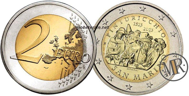 2 Euro Commemorativi San Marino 2013 Pinturicchio