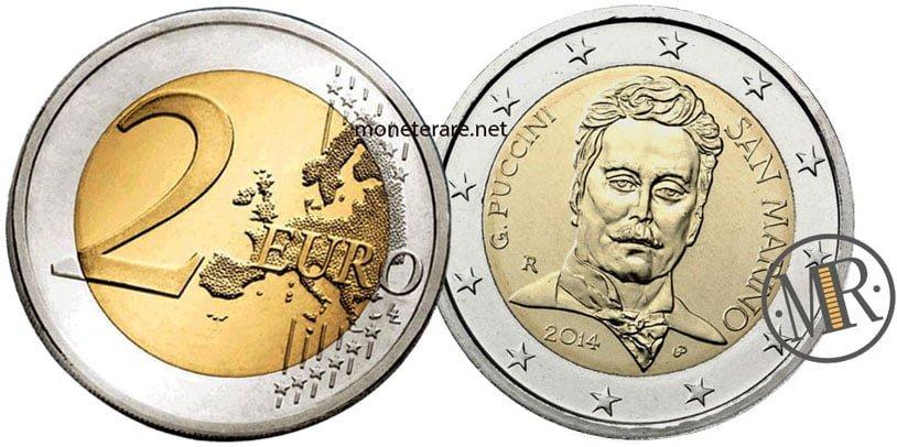 2 Euro San Marino 2014 Puccini - Commemorativi