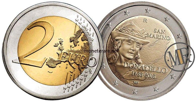 2 Euro San Marino 2015 Donatello - Commemorativi