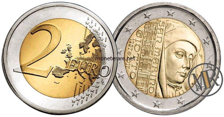 2 Euro San Marino 2017 Giotto - Commemorativi