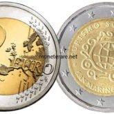 2 Euro San Marino 2017 Turismo