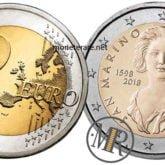2 Euro San Marino 2018 Bernini