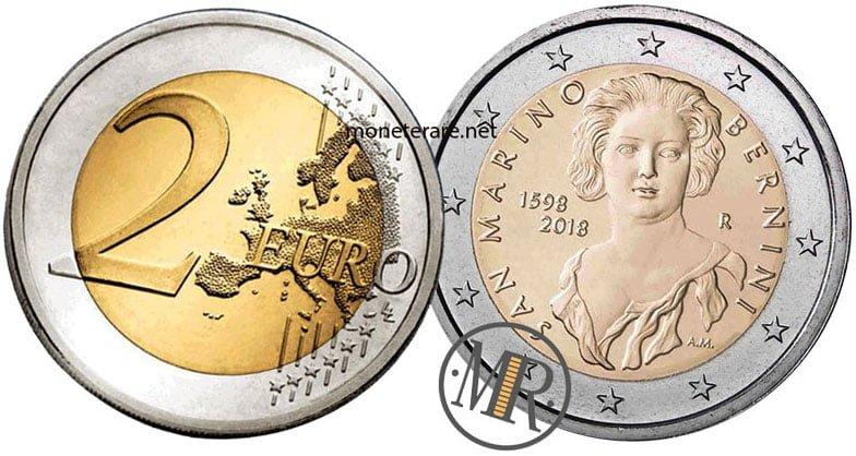 2 Euro San Marino 2018 Bernini - Commemorativi