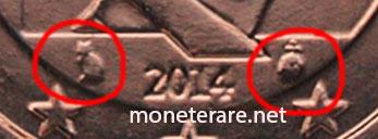 5 Centesimi Belgio 2014 Simboli di Zecca