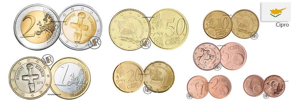 Euro Ciprus Coins