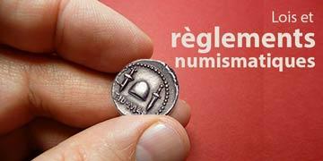 règlements-numismatiques