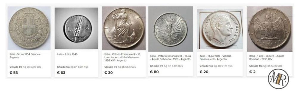 coins auction online on catawiki