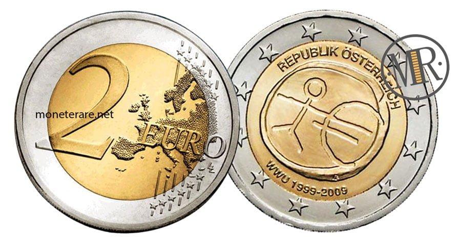 2 Euro Commemorativi Austria 2009 UEM