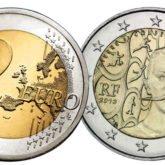 2 Euro Francia 2013 - 150° anniversario nascita di Pierre de Coubertin