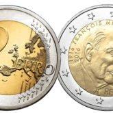 2 Euro Francia 2016 - 100° anniversario nascita François Mitterrand