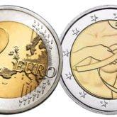 2 Euro Francia 2017 - 25° anniversario Nastro Rosa