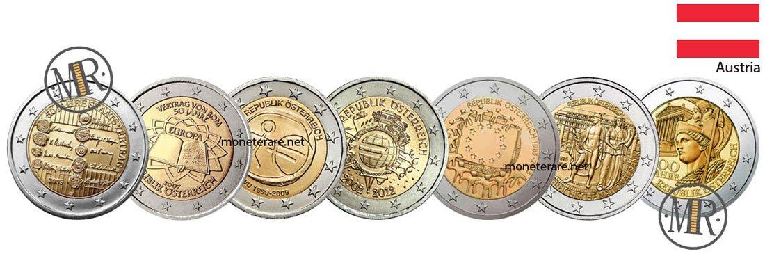 2 Euro Commemorativi Austria Eurocollezione