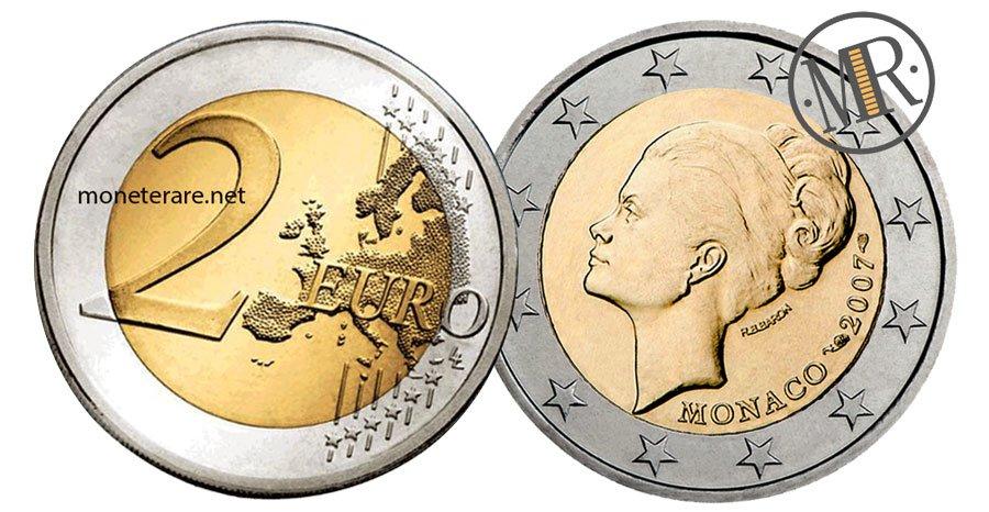 2 Euro Commemorative Monaco 2007 Principessa Grace