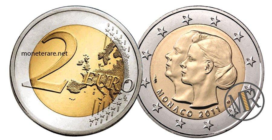 2 Euro Commemorative Monaco 2011 Nozze