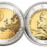 2 Euro Monaco 2012 – 500° Anniversario della Sovranità di Monaco