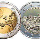 2 Euro Monaco 2015 – 800° Anniversario Costruzione Fortezza della Rocca
