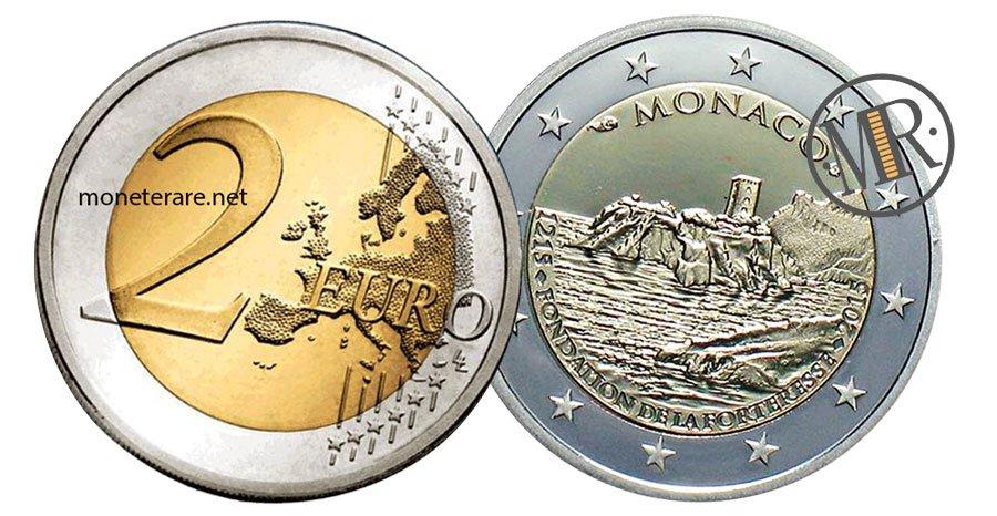 2 Euro Commemorative Monaco 2015 Il Castello