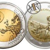 2 Euro Monaco 2016 – 150° anniversario della fondazione di Monte Carlo da parte di Charles III