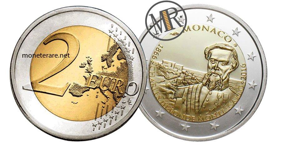 2 Euro Commemorative Monaco 2016 Monte Carlo
