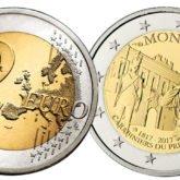 2 Euro Monaco 2017 – 200° anniversario della fondazione della Compagnia dei Carabinieri del Principe