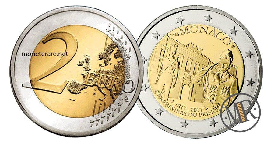 2 Euro Commemorative Monaco 2017 Carabinieri del Principe