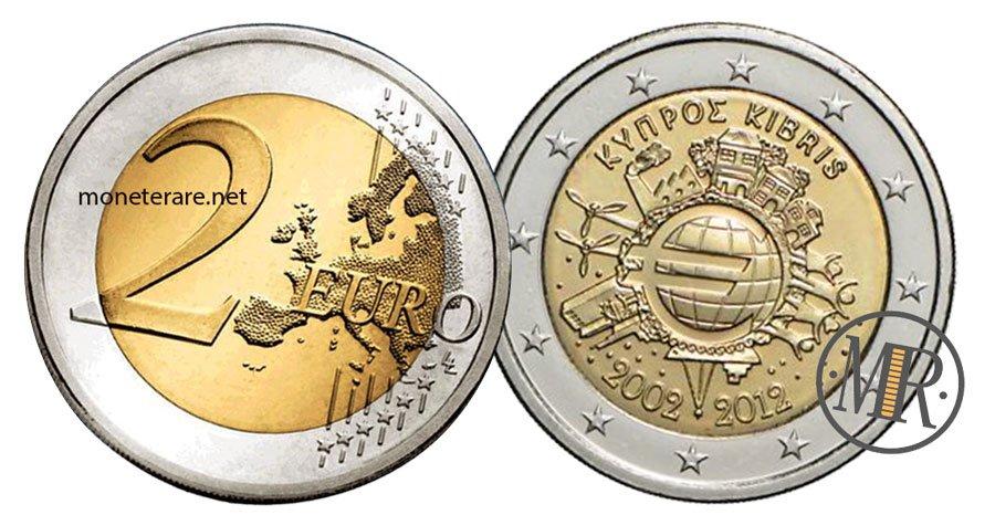 2 Euro Commemorativi di Cipro 2012 Euro
