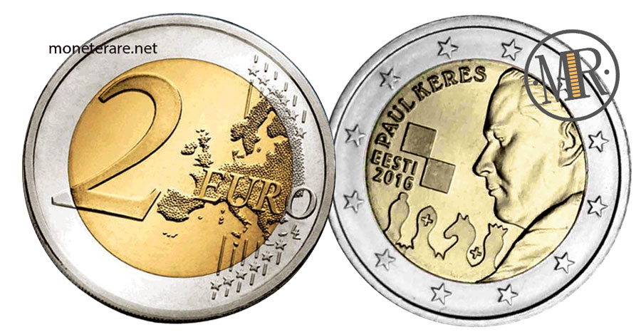 2 Euro Estonia 2016 Paul Kérès