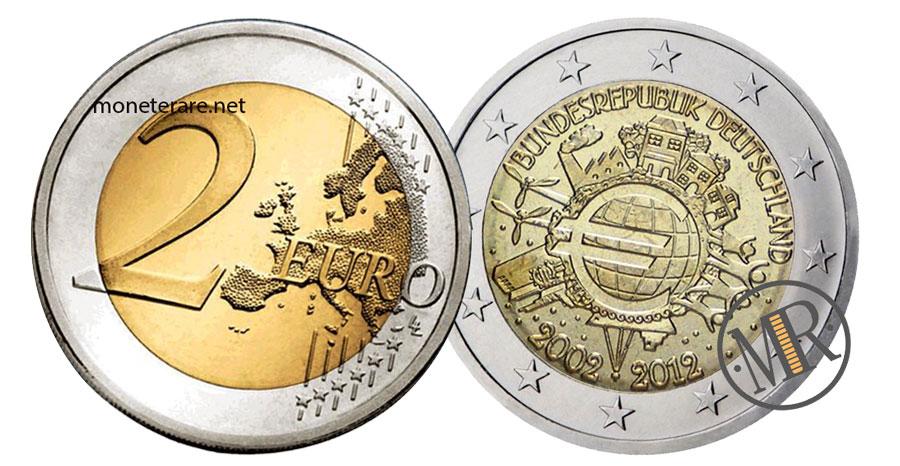 2 Euro Commemorativi Germania 2012 Euro