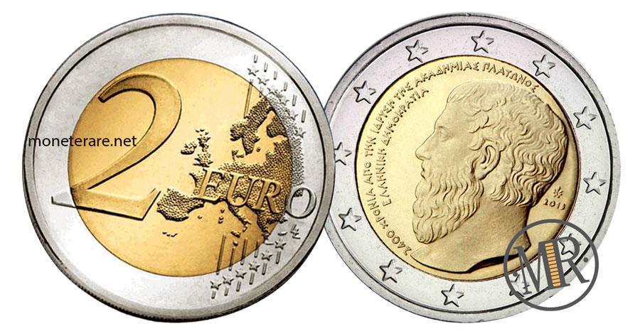 2 Euro Commemorativi Grecia 2013  Accademia di Platone