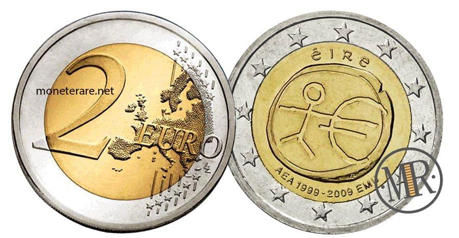 2 Euro Commemorativi Irlanda 2009 EMU