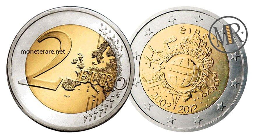 2 Euro Commemorativi Irlanda 2012 Euro