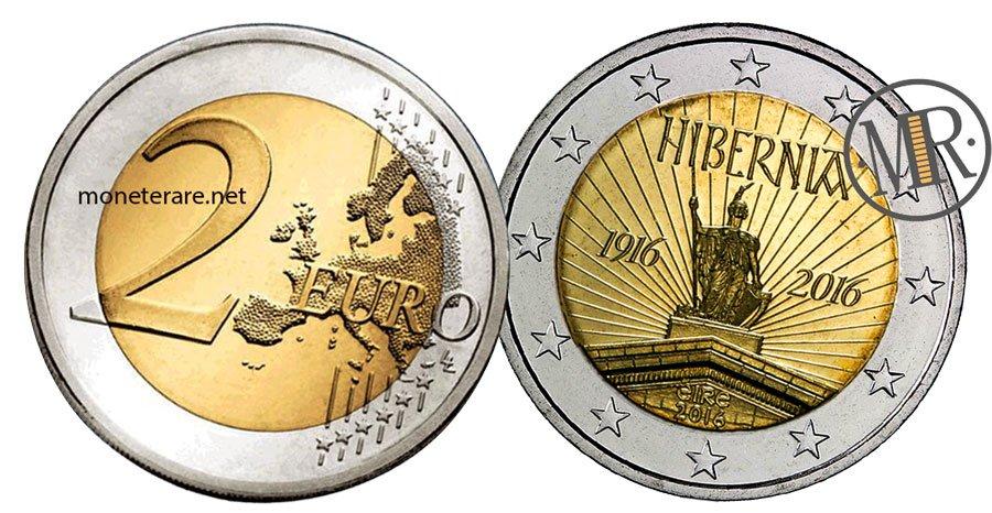 2 Euro Commemorativi Irlanda 2016 Rivolta di Pasqua