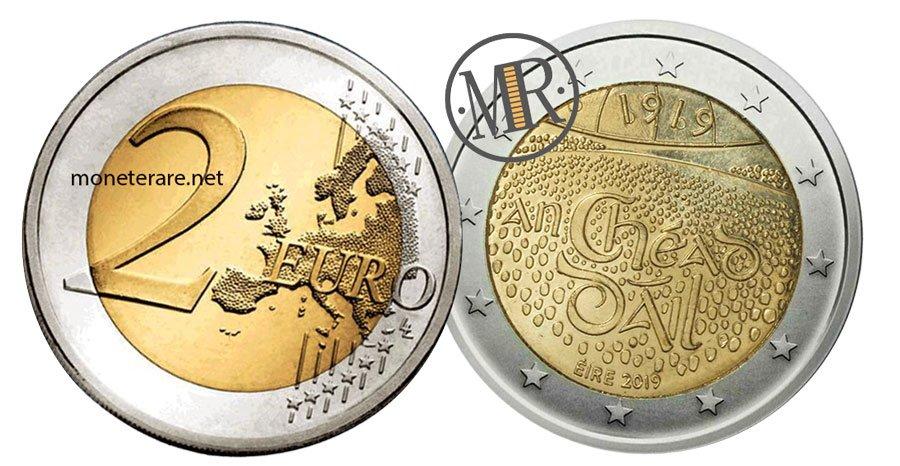 2 Euro Commemorativi Irlandesi 2019 Dáil Éireann