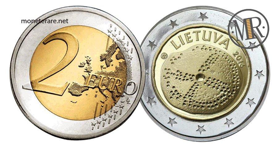 2 Euro Commemorativi Lituania 2016 Cultura Baltica