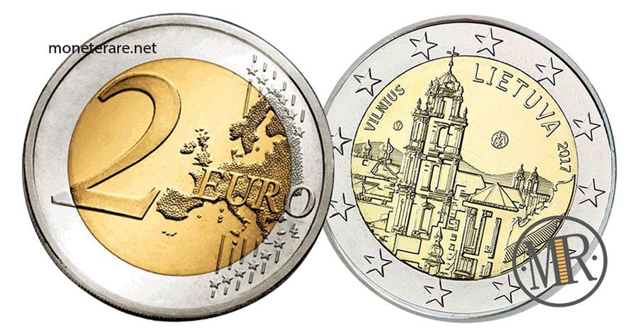 2 Euro Commemorativi Lituania 2017 Capitale della Cultura
