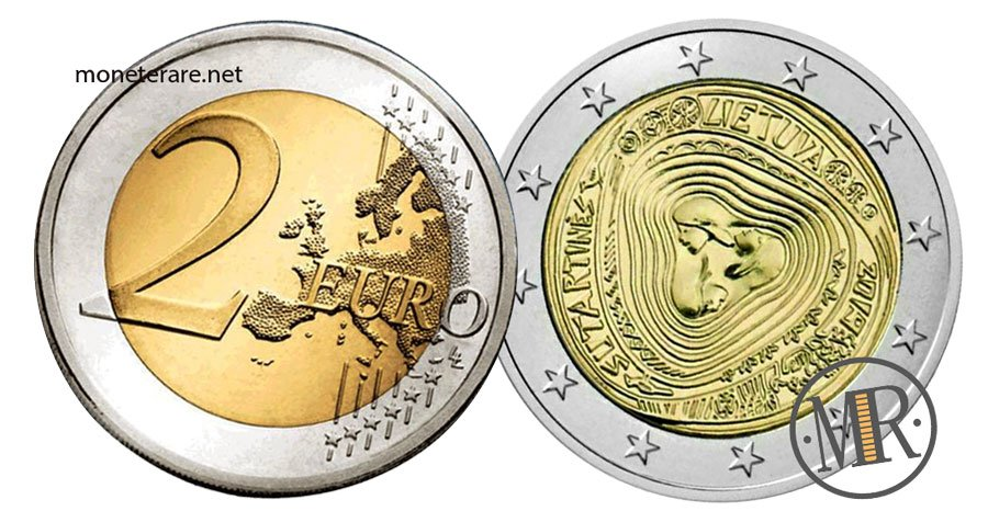 2 Euro Lituania 2019 Canzoni Popolari Lituane