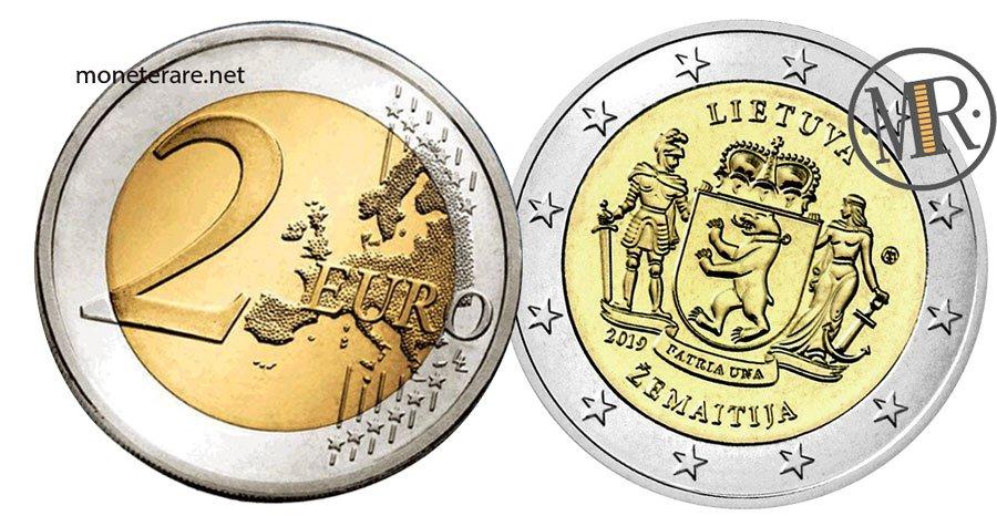 2 Euro Commemorativi Lituani 2019 Samogizia